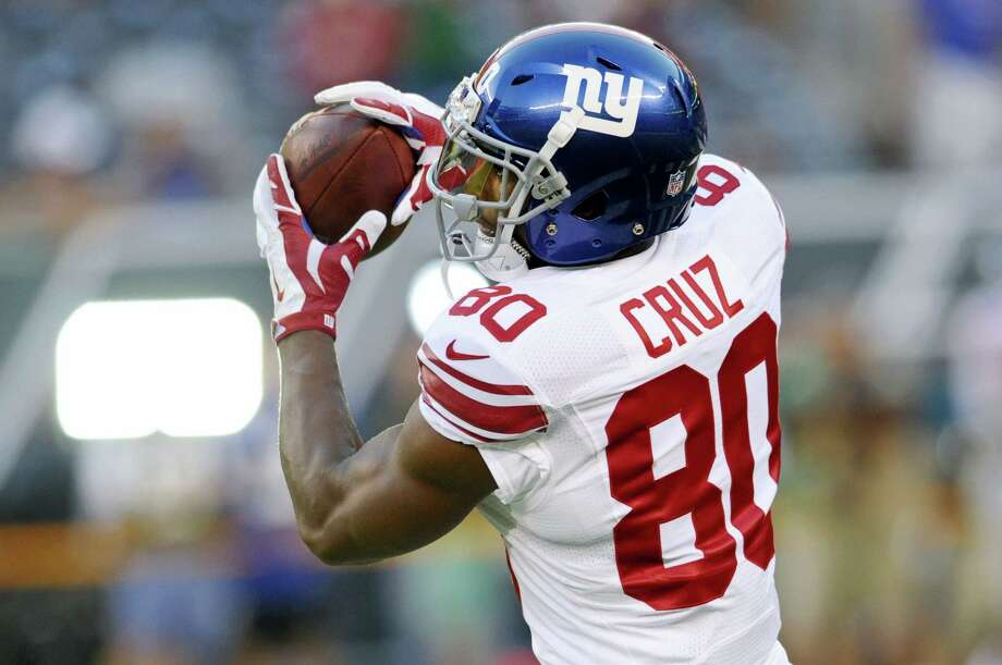 Victor Cruz is expected to play in his first game since the middle of the 2014 season on Sunday against the Dallas Cowboys. Photo: The Associated Press File  / FR51951 AP
