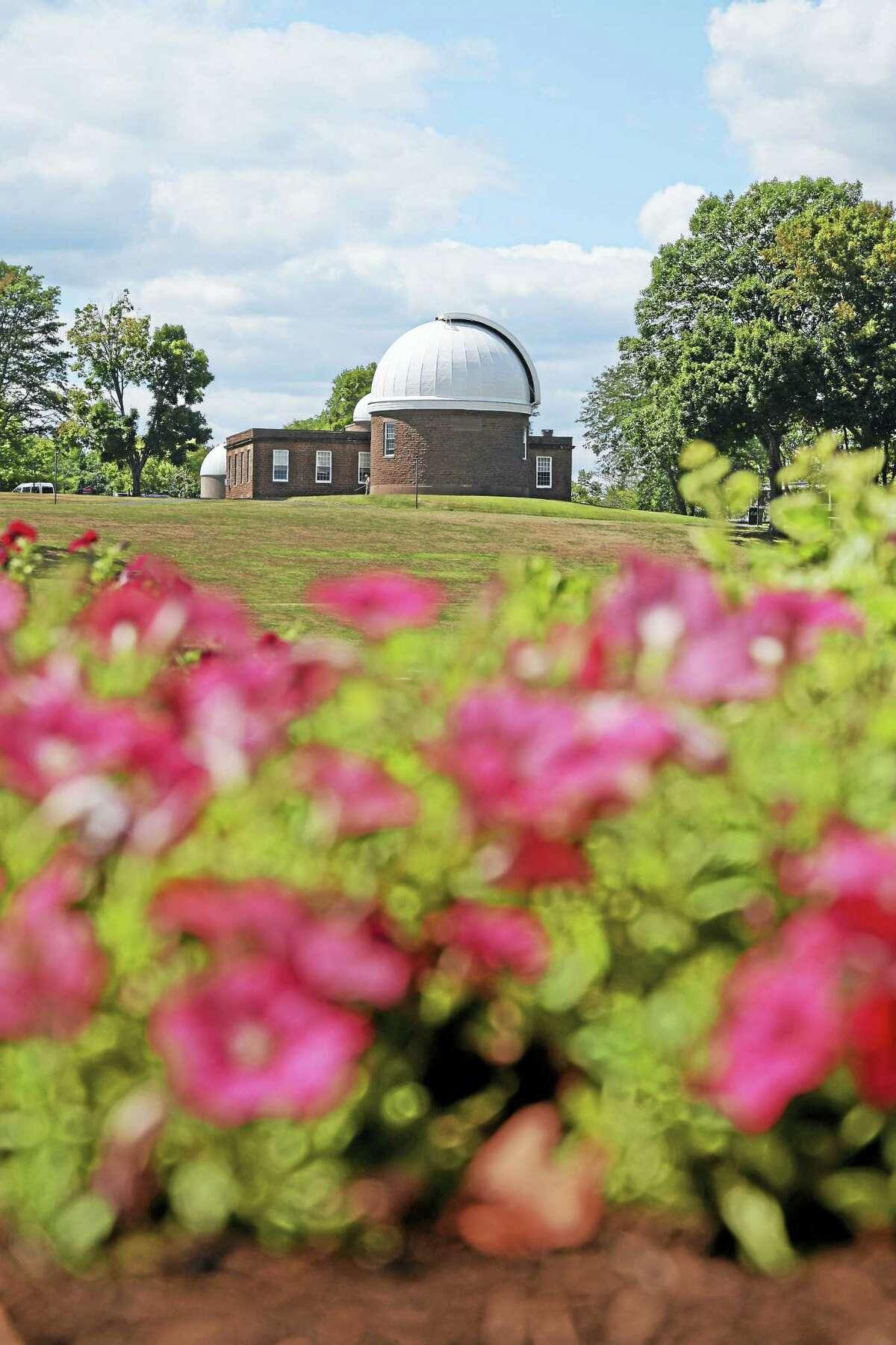 Wesleyan University's Van Vleck Observatory sits high atop Foss Hill.