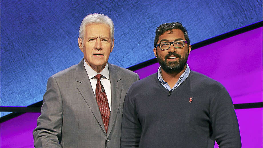 Haddam-Killingworth High School graduate Vivek Ravishanker of Higganum successfully competed on Jeopardy! last week. Photo: Contributed Photo