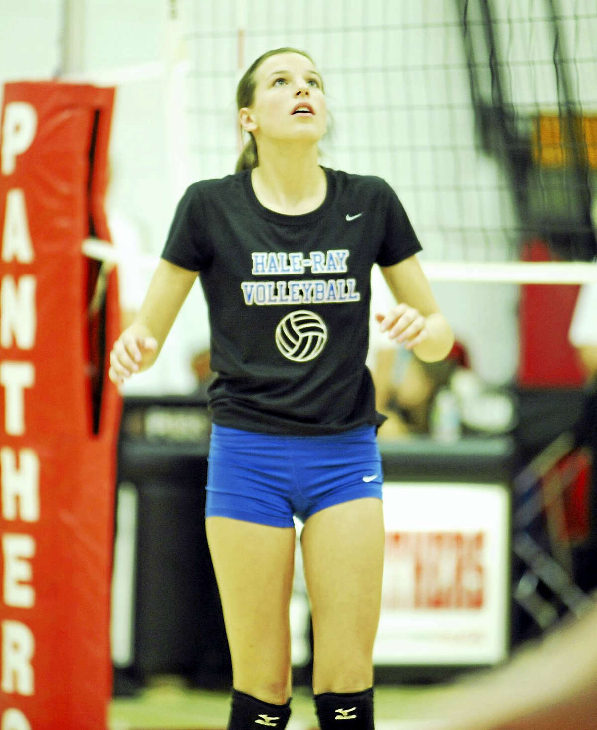 Hale-Ray senior setter Mary Pease and the Noises have high expectations this season.