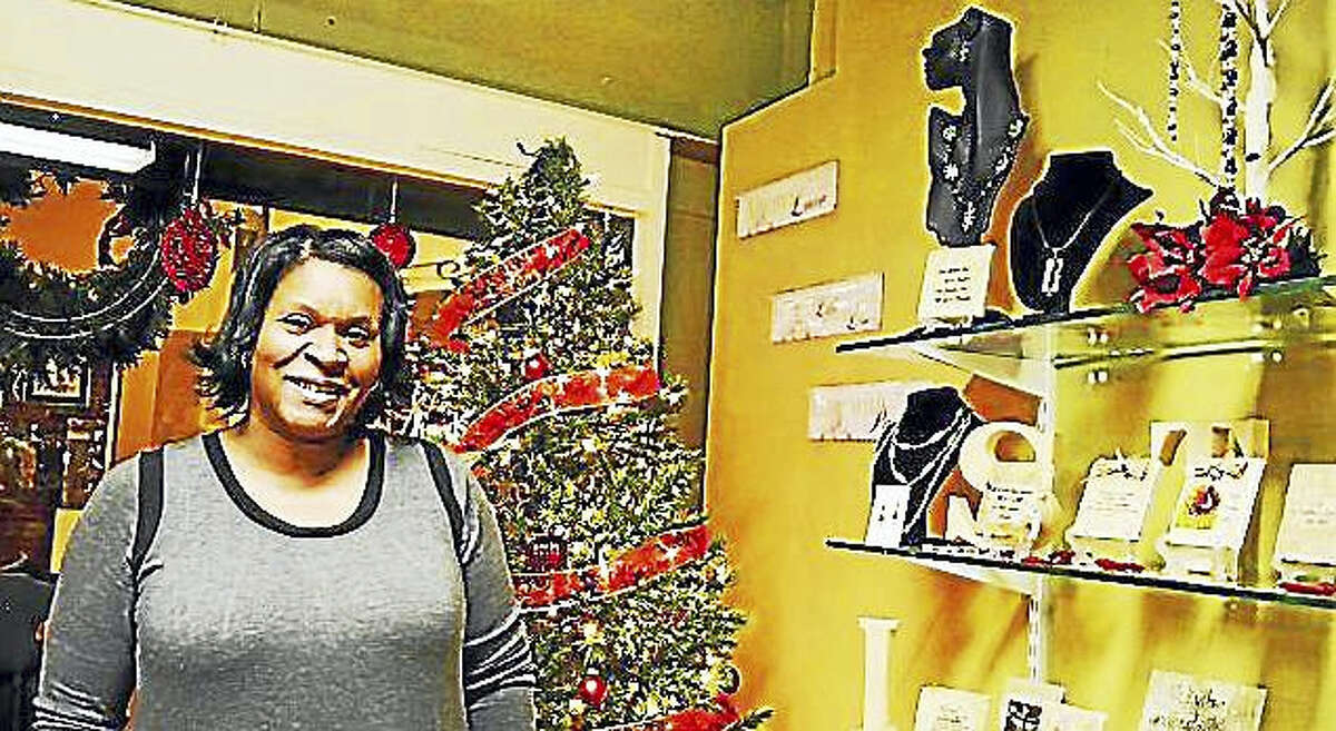 Dorene Robles, owner of Verse-A-Tile in Middletown, said her New Year's resolution is to help others reach their full potential