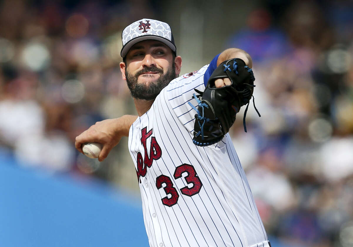 New York Mets starting pitcher Matt Harvey throws during the second inning of the baseball game against the Miami Marlins, Monday. Harvey was placed on the 15-day disabled list because of right shoulder discomfort.