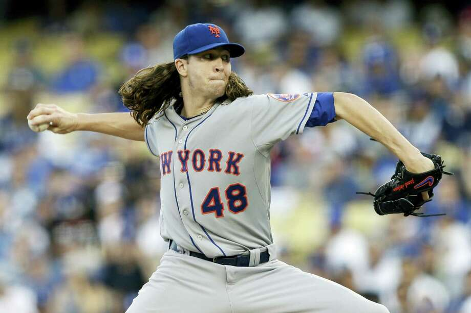 Mets starting pitcher Jacob deGrom. Photo: The Associated Press File Photo  / FR170211 AP