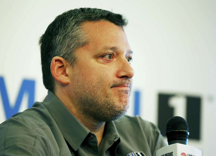 NASCAR driver Tony Stewart speaks during a news conference Friday in Las Vegas. Photo: John Locher — The Associated Press  / Copyright 2016 The Associated Press. All rights reserved. This material may not be published, broadcast, rewritten or redistributed without permission.