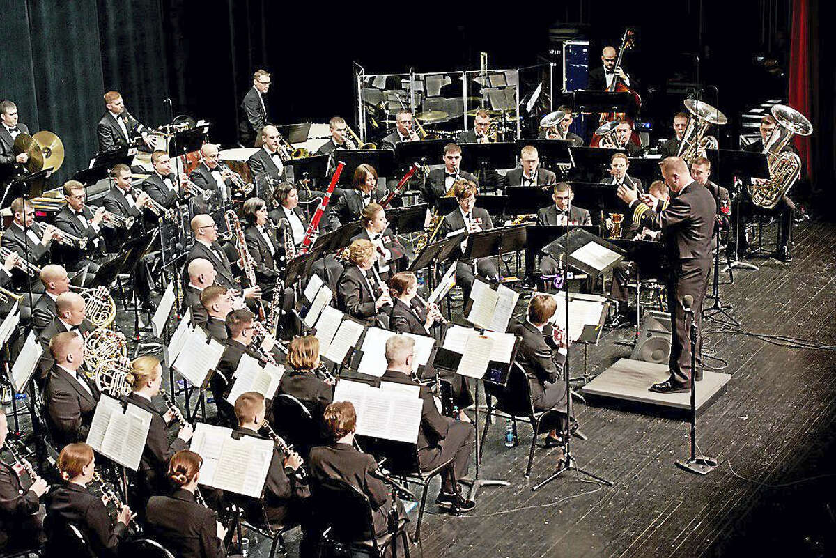 The U.S. Navy Band in concert.