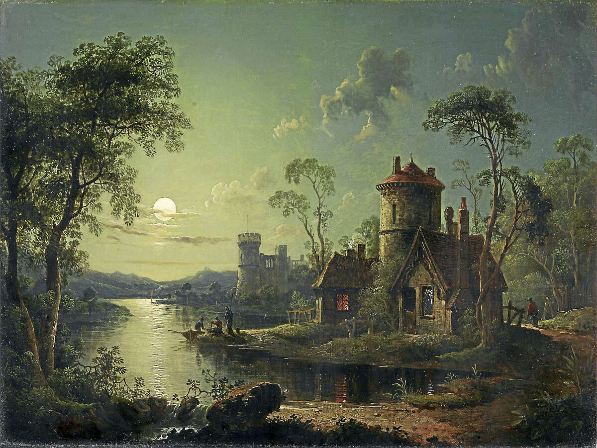 """""""Moonlight River Scene"""" by Sebastian Pether"""