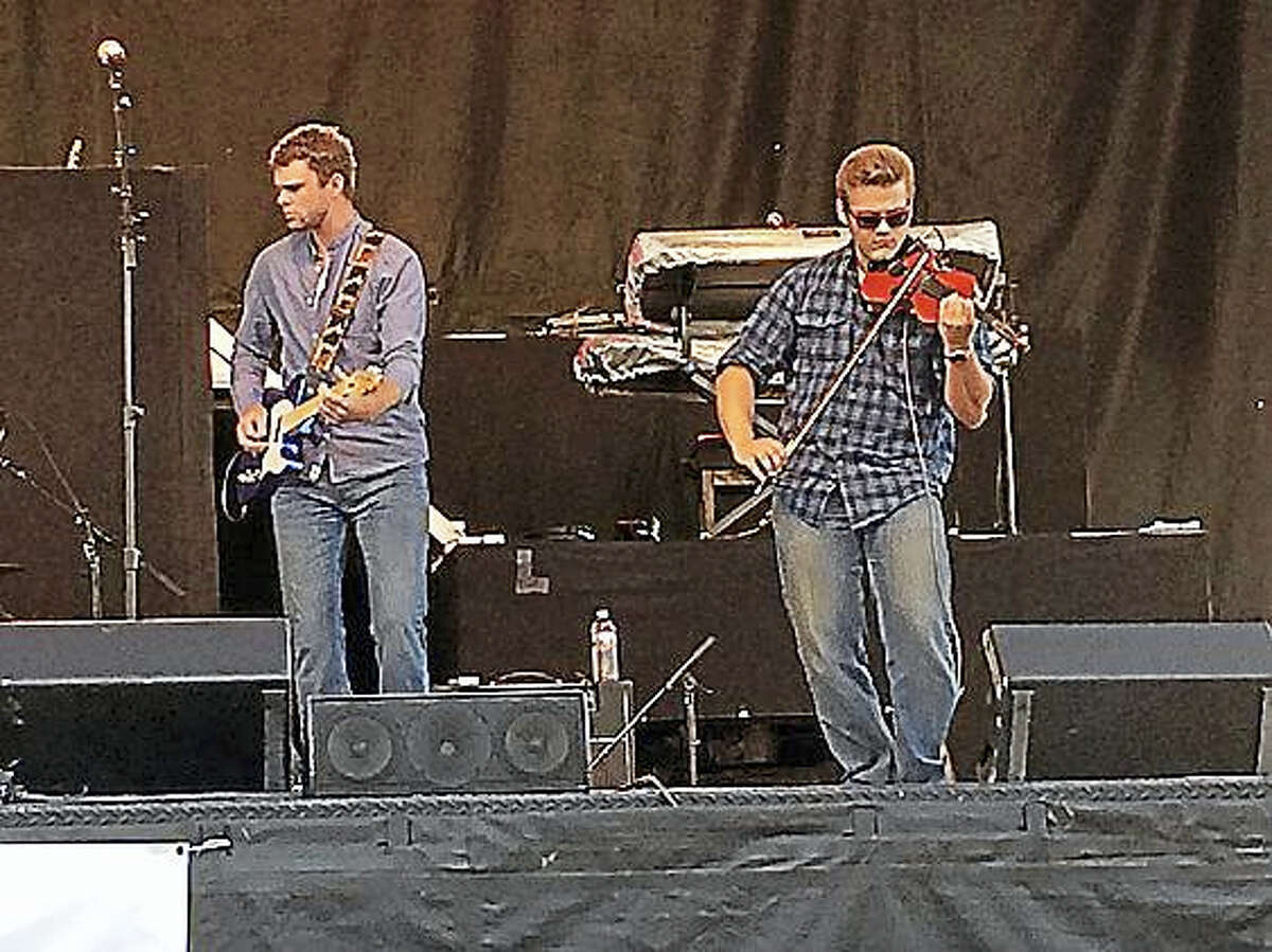 The Jackson Hill Band of Middlefield, one of many featured acts, play at last year's Durham Fair.