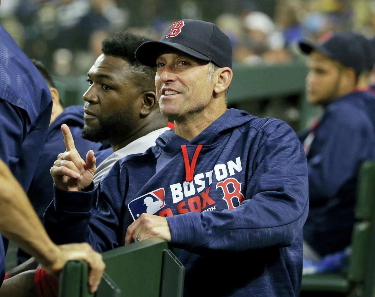 The Arizona Diamondbacks hired Red Sox bench coach Torey Lovullo as their new manager on Friday.