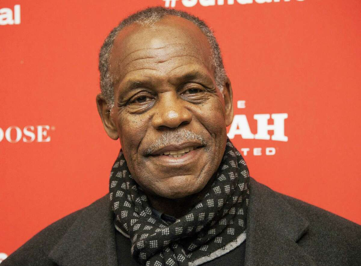 """In this Jan. 25, 2016 photo, actor Danny Glover poses at the premiere of """"Complete Unknown"""" during the 2016 Sundance Film Festival in Park City, Utah. Glover will receive a human rights award at a historic site in the Adirondacks honoring abolitionist John Brown on May 7, 2016."""