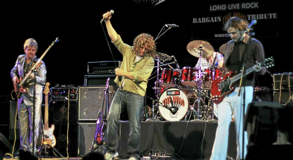 Bargain, The Who tribute band in concert.
