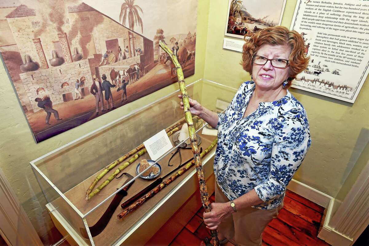 """Middlesex County Historical Society Executive Director Deborah Shapiro co-curated """"A Vanished Port: Middletown & the Caribbean, 1750-1824,"""" which opens Saturday at the General Mansfield House."""