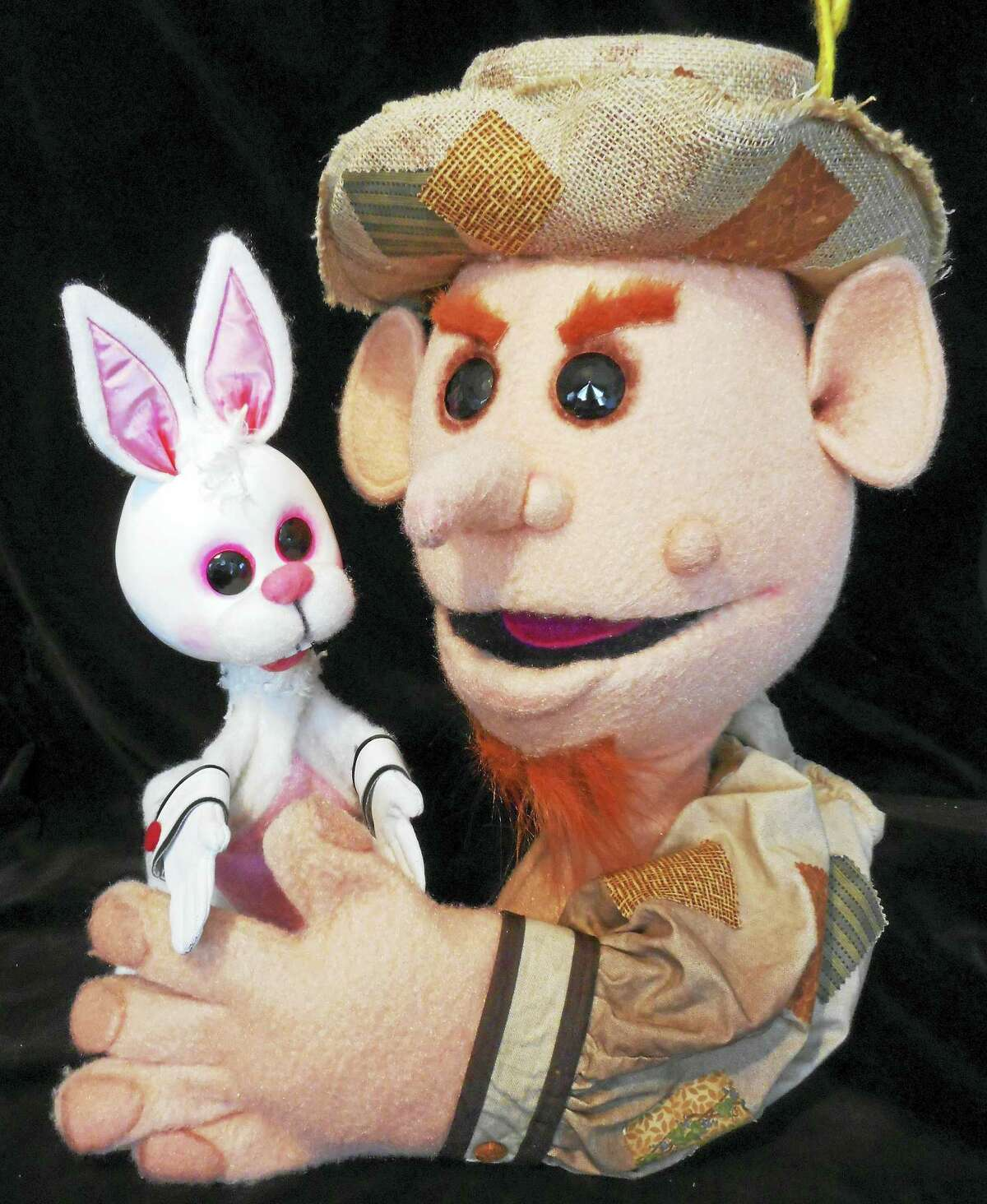 "Pumpernickel Puppets' ""Peter Rabbit."""