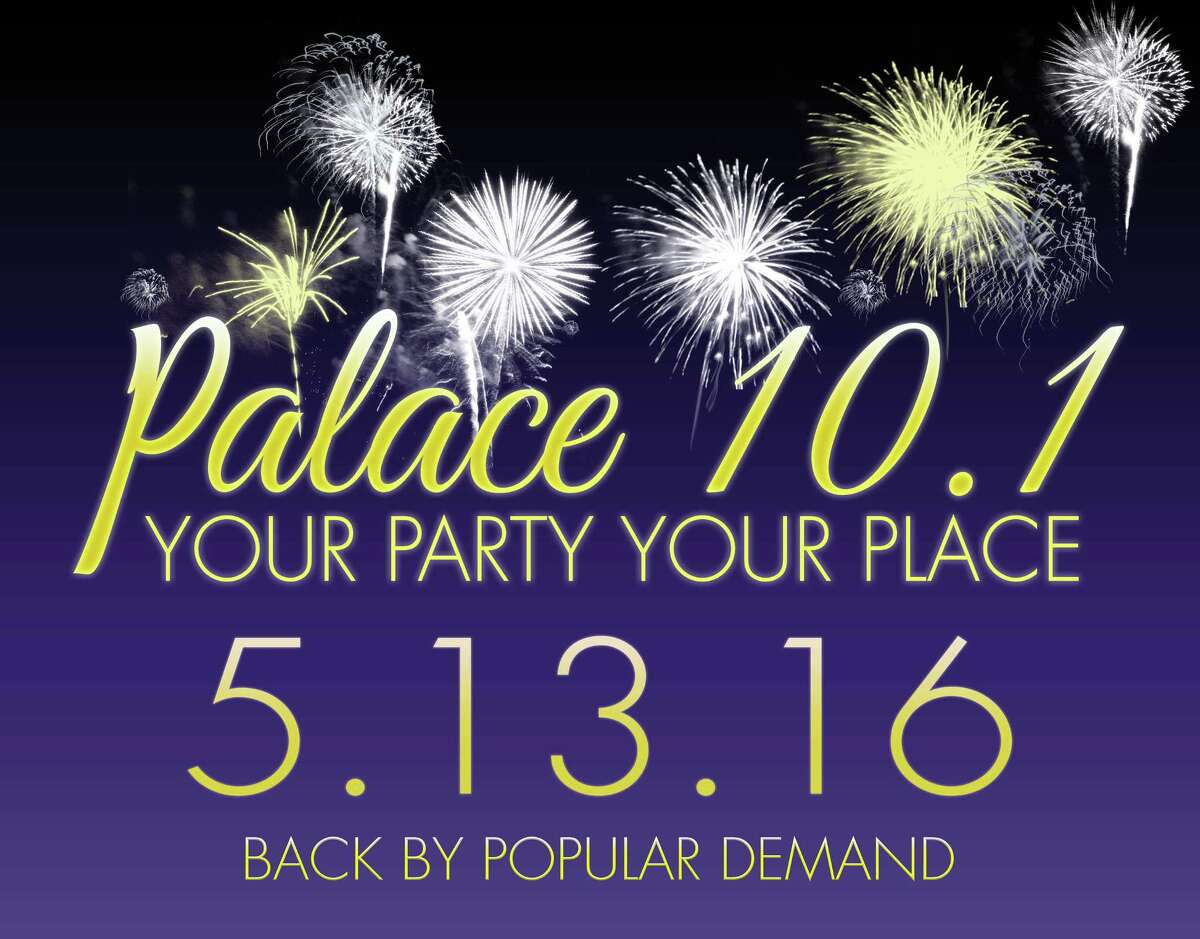 Contributed photoThe Palace Theatre in Waterbury will host its annual party on May 13.