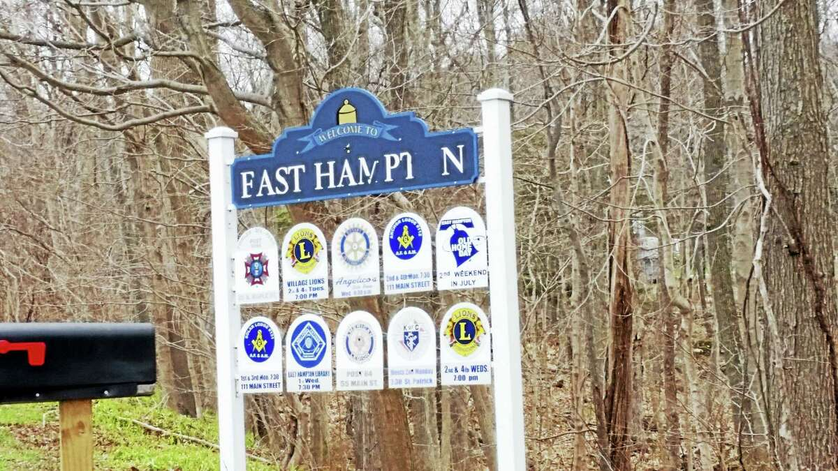 Cassandra Day - The Middletown Press Town of East Hampton sign logo