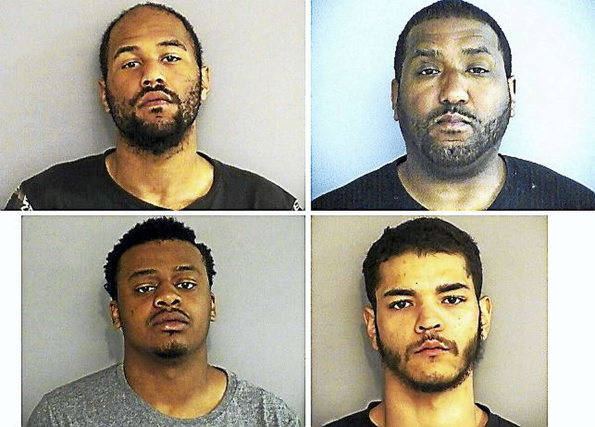 From left to right, top to bottom are: Demar Boxley, Larry Darnell Burney, Quashaun Foster and Steven Rios