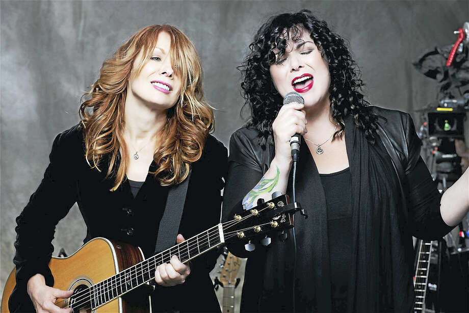 Contributed photoHeart, led by sisters Nancy and Ann Wilson, have teamed up with Joan Jett and Cheap Trick for a triple bill show that stops at the Oakdale Theater in Wallingford on July 25. For tickets or more information on this upcoming concert,  call the Toyota Presents Oakdale Theater at 203-265-1501 or visit www.oakdale.com Photo: Journal Register Co.