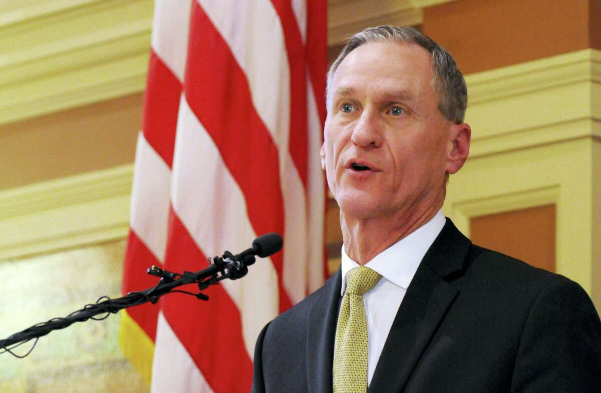 In this Jan. 12 file photo, South Dakota Gov. Dennis Daugaard delivers his annual state of the state address at the state Capitol in Pierre.