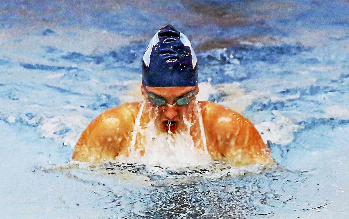 Middletown's Kim Shekosky returns for her junior season to swim the 200IM and 100 yard breaststroke.