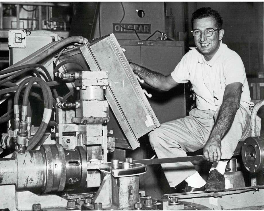 The New Britain Industrial Museum at 185 Main Street in New Britain, CT will be exhibiting the Industrial Folk Art of Abraham Megerdichian from September 6, 2016 through January 31, 2017.         Abraham Megerdichian (1923-1983) was a trained machinist living and working in Massachusetts. Beginning in his 30s Abraham began machining his interpretations of everyday objects from scrap blocks of aluminum, brass, copper and stainless steel.    Check the Museum's website, www.nbindustrial.org or Facebook page for additional upcoming events. Contact museum Director Karen Hudkins at newbritainim@gmail.com for any additional information. Photo: Journal Register Co.