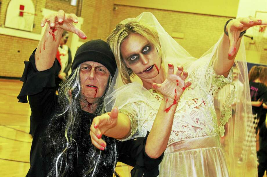 """The Middlesex Y recently held its 1st YMCA Zombie Mob fundraiser. The """"Thriller""""-inspired event was organized as a fundraiser to provide free memberships for those participating in the diabetes program. Photo: Contributed Photo"""