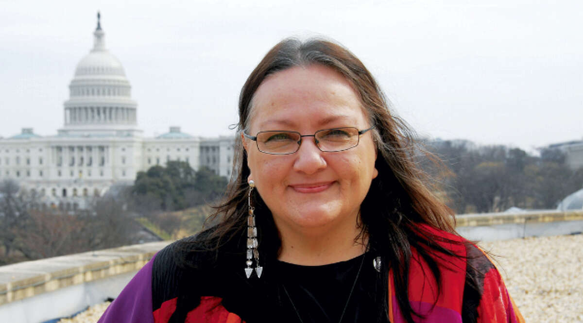 """On Friday, Suzan Shown Harjo will appear at Wesleyan University to host """"The Native American Graves Protection and Repatriation Act Revisited."""""""