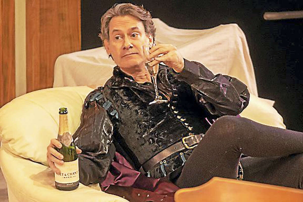 """Contributed photo - Playhouse on ParkEzra Barnes plays John Barrymore in Playhouse on Park's """"I Hate Hamlet."""""""
