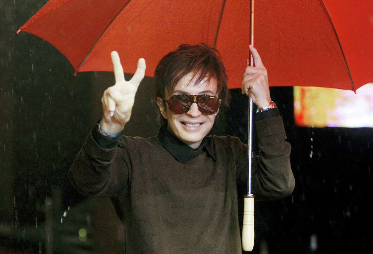 """In this Oct. 28, 2008 photo, director Michael Cimino arrives at the third edition of the Rome Film Festival, in Rome.Cimino, whose film """"The Deer Hunter"""" became one of the great triumphs of Hollywood's 1970s heyday, and whose disastrous """"Heaven's Gate"""" helped bring that era to a close, has died at age 77."""
