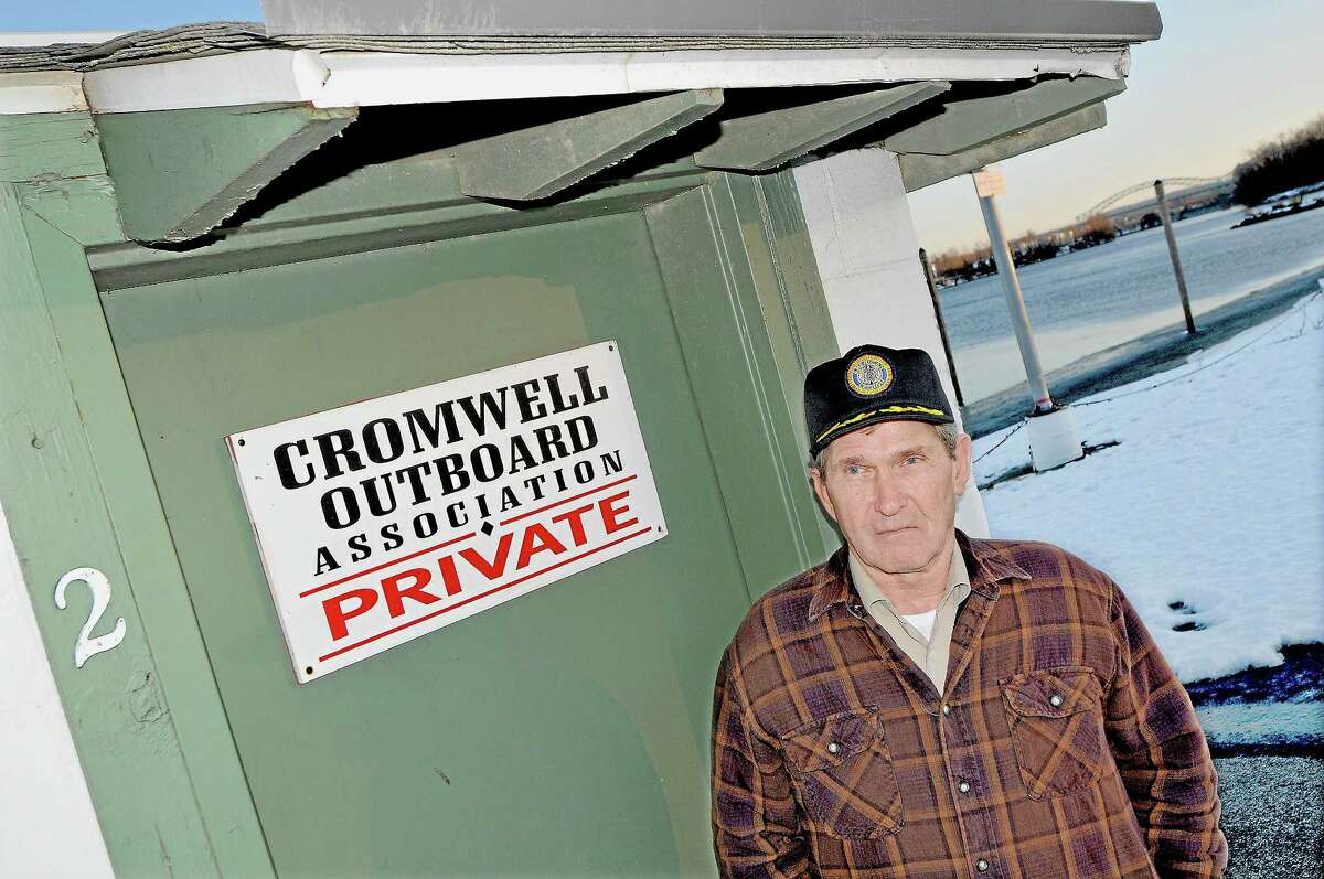 Commodore of the Cromwell Outboard Association Al Waters
