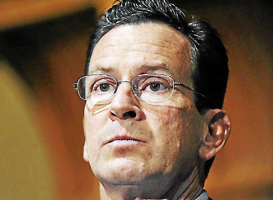 Gov. Dannel Malloy Photo: THE ASSOCIATED PRESS  / AP2010