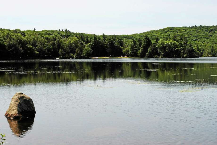 Burr Pond State Park in Torrington. As summer begins, Connecticut would have to rank near the top nationally in natural beauty, the author writes. Photo: Viktoria Sundqvist — The Register Citizen
