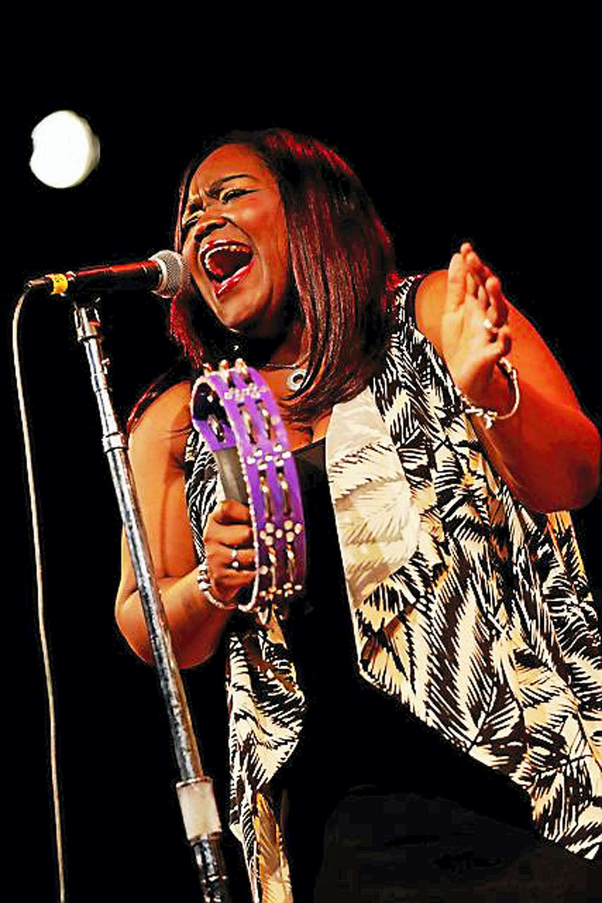 Contributed photoShemekia Copeland performs at Infinity Hall in Norfolk.