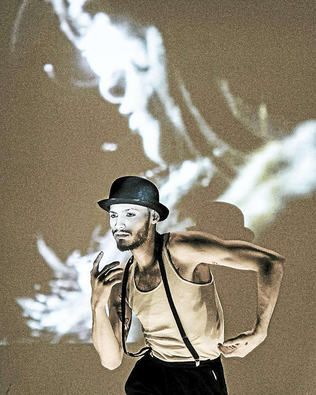 """Luis Antonio, part of """"Escapade"""" at Lyric Hall."""
