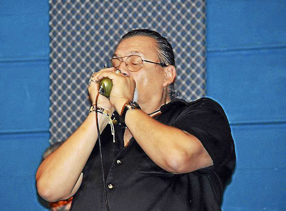 Photo by Domenic ForcellaRich Badowski and EasyBaby will perform at the Connecticut Blues Society's Blues Blizzard finale at the Hannon-Hatch VFW in West Hartford. Photo: Journal Register Co.
