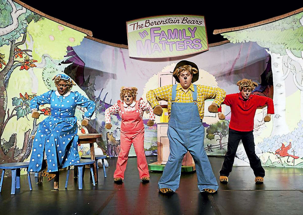 Actors will play the roles of The Berenstain Bears in a show at the Shubert Theatre.