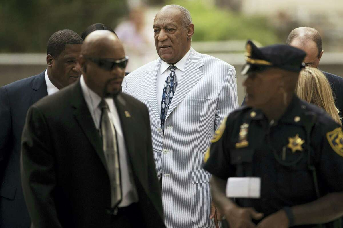 Bill Cosby arrives for a pretrial hearing in his sexual assault case at the Montgomery County Courthouse in Norristown, Pa. on Sept. 6, 2016.