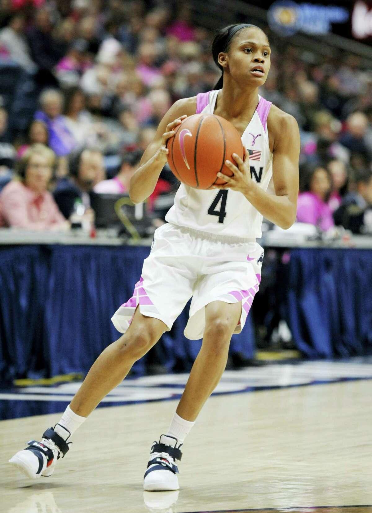 UConn's Moriah Jefferson.