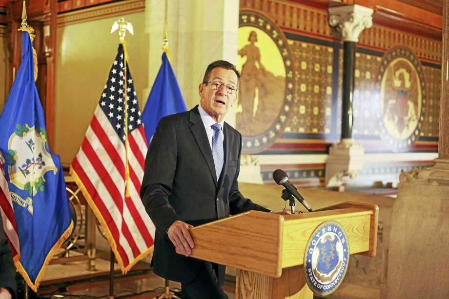 Connecticut Gov. Dannel P. Malloy Photo: Christine Stuart/CT News Junkie