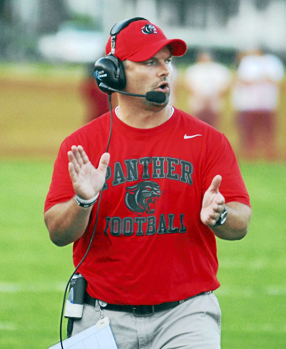 Cromwell/Portland coach Chris Eckert enters his sixth season with the Panthers this fall.