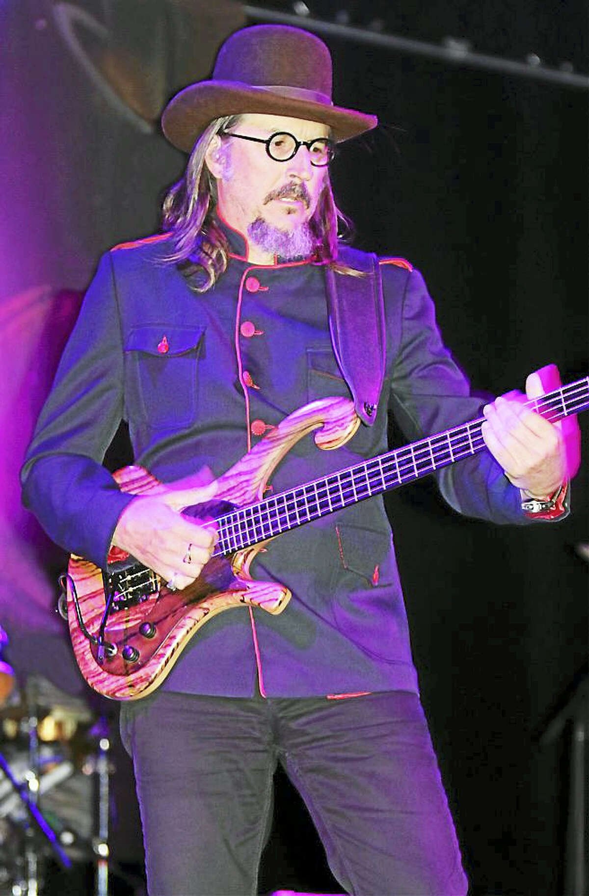 Photo by John AtashianBass player, singer and songwriter Les Claypool, of the rock band Primus, performs at the College Street Music Hall in New Haven Aug. 26 with his latest band, the Claypool Lennon Delirium. The new group, which also includes musician Sean Lennon, are now on a U.S. tour in support of their new CD, The Monolith of Phobos. To learn more about this new group, visit www.theclaypoollennondelirium.com.