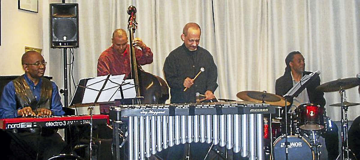 Middletown vibraphonist and Wesleyan University music professor Jay Hoggard performs with his quartet.