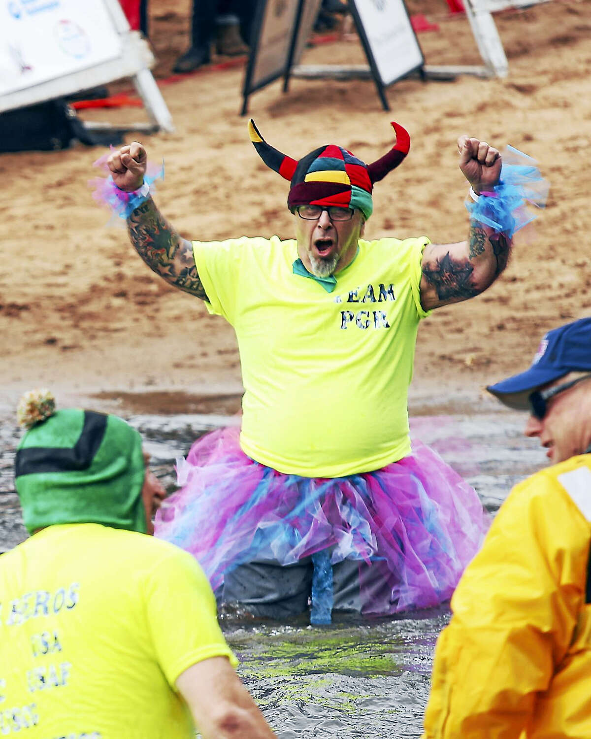 Sandy Aldieri - Special to the Press Middletown Penguin Plunge 2016 Crystal Lake Elks Club