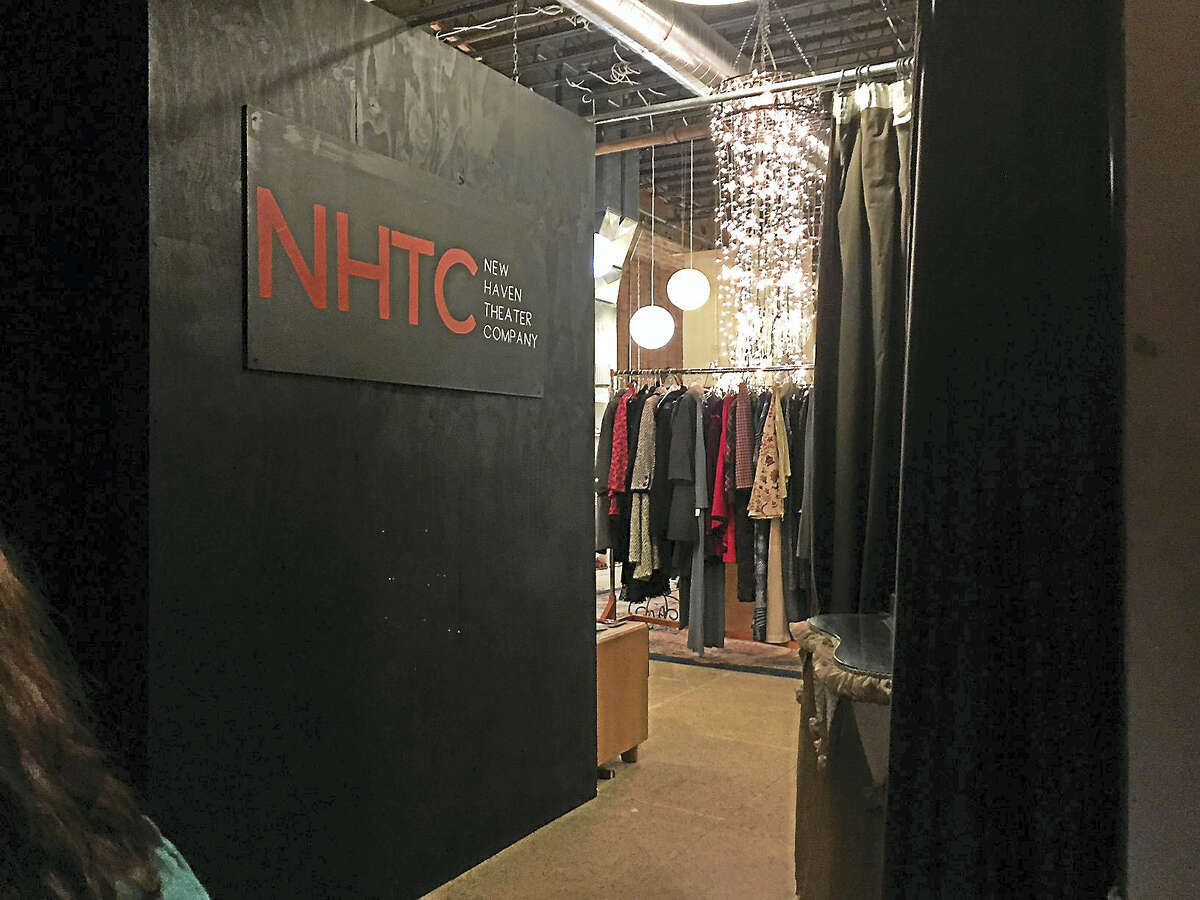 The entrance to the NHTC theater, from the inside.