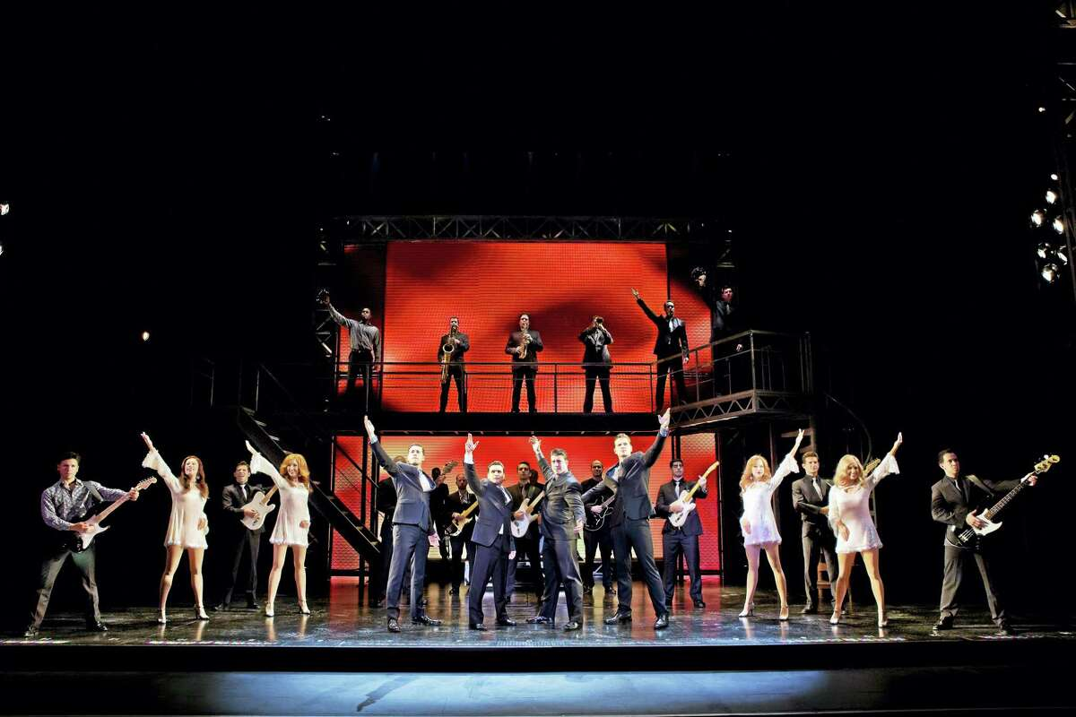 """The finale of """"Jersey Boys."""""""