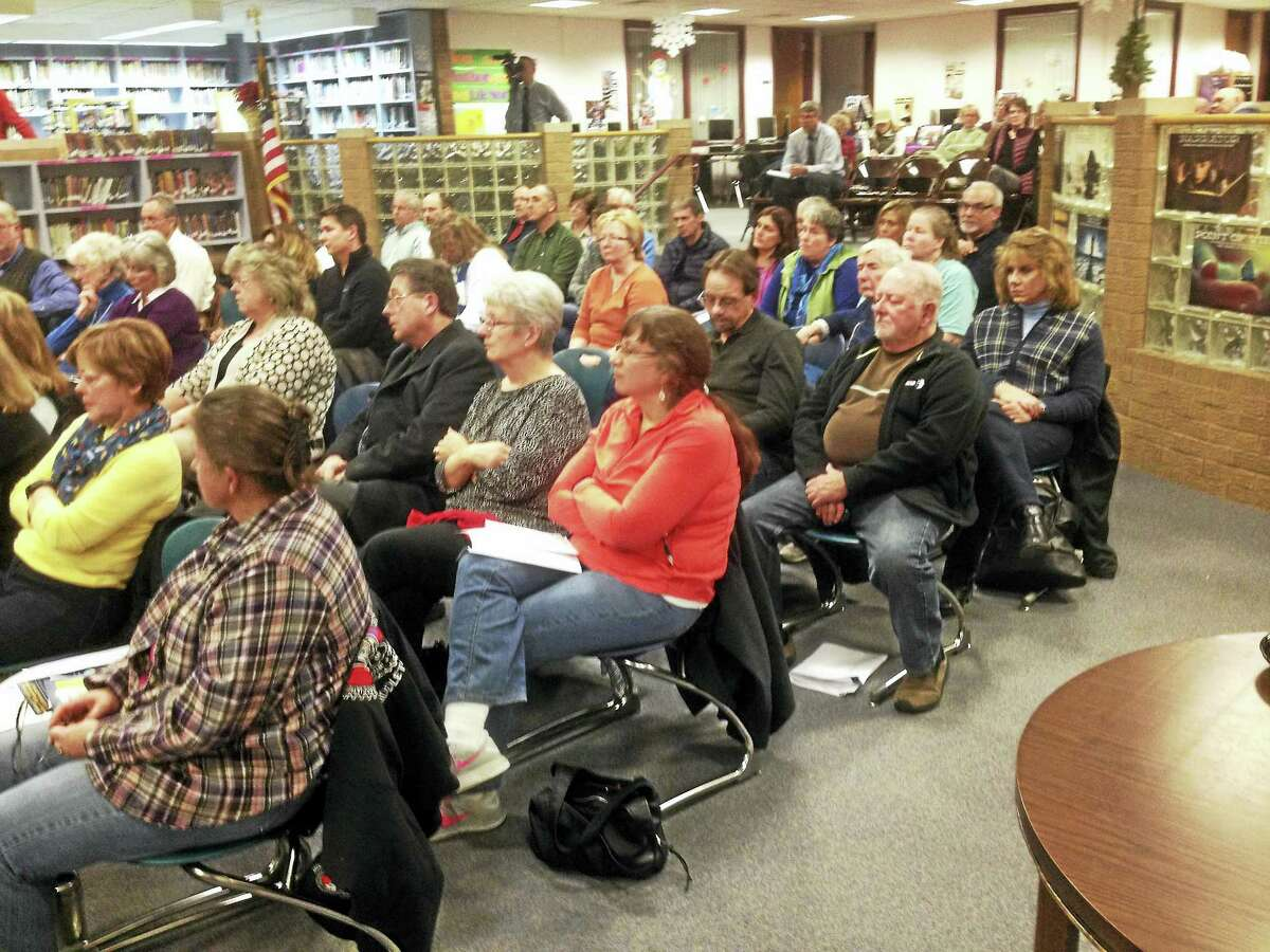 Eighty people showed up at the East Hampton symposium.