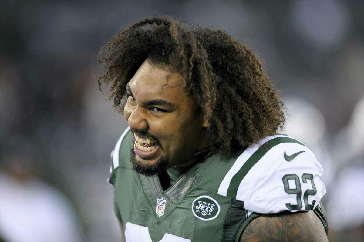 New York Jets defensive tackle Leonard Williams.