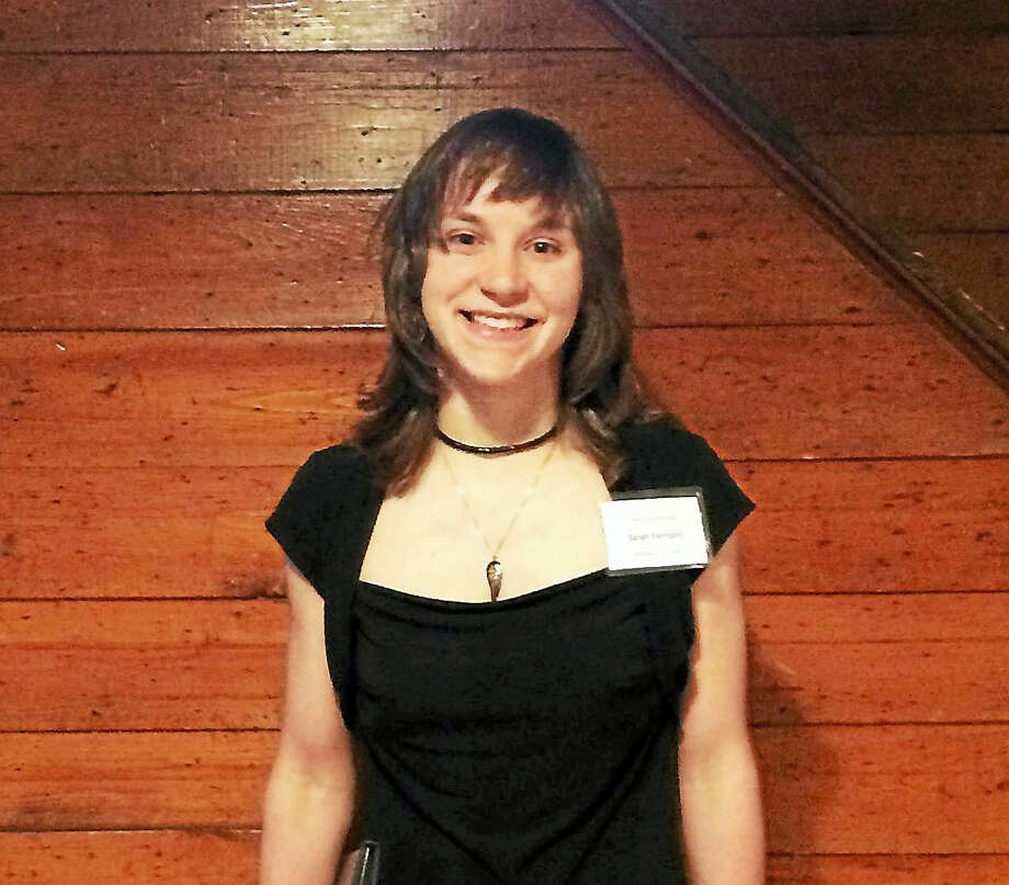 Middletown High School Sarah Ferrigno won the poetry award. Photo: Contributed Photo