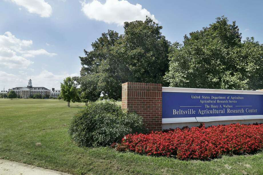 """The Beltsville Agricultural Research Center, the Agriculture Department's research center and library is seen after employees were informed of a threat in the morning and sent home, Tuesday, Aug. 30, 2016. The Agriculture Department closed offices in five states after receiving anonymous threats. USDA spokesman Matthew Herrick said the department had received """"several anonymous messages"""" that raised concerns about the safety of USDA personnel and facilities. Photo: AP Photo — Jacquelyn Martin / Copyright 2016 The Associated Press. All rights reserved."""