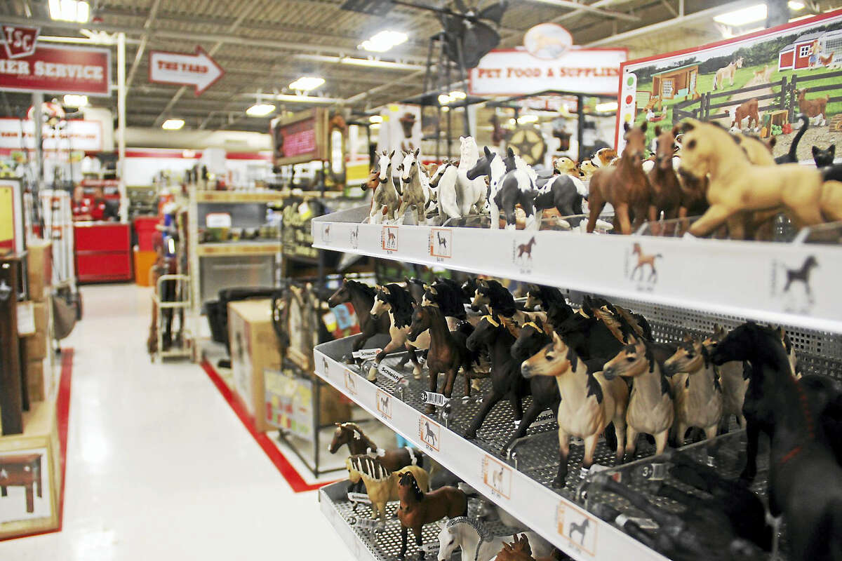 A look inside the Tractor Supply Company store in Farmington, where farmers can find gardening supplies, farm and ranch equipment, and pets and livestock products.