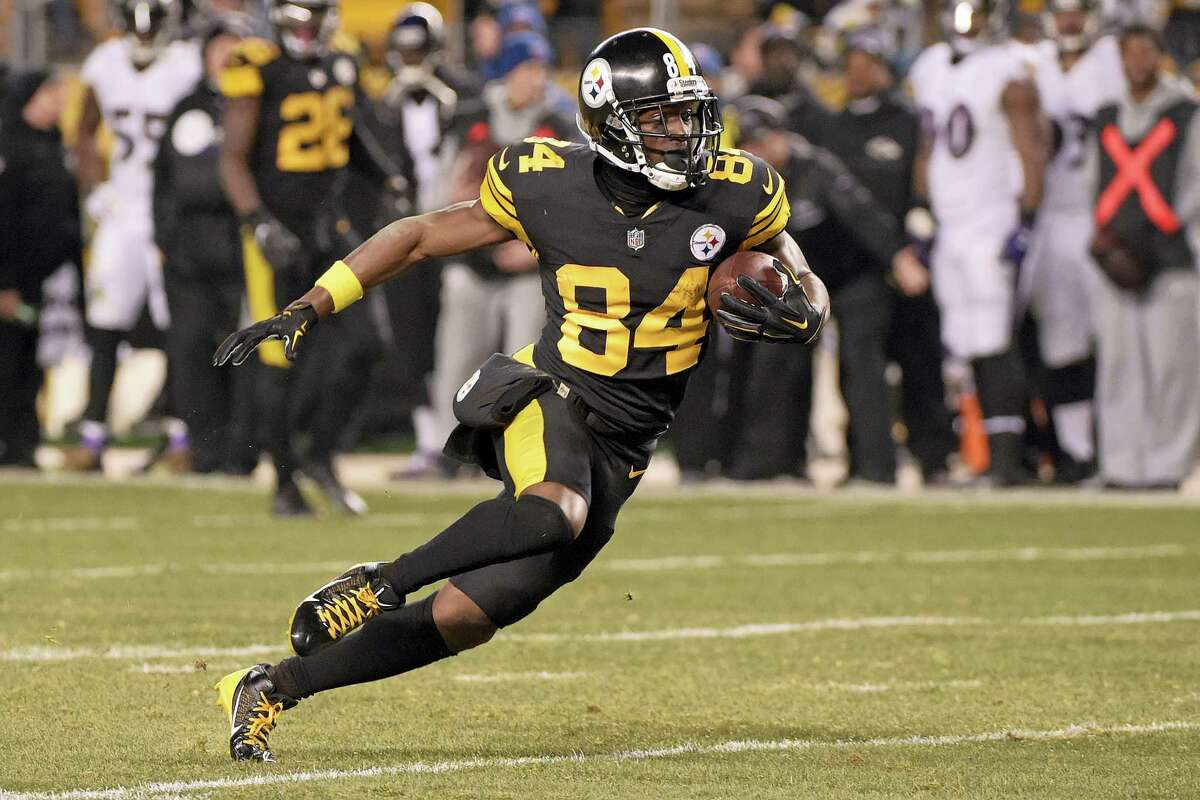 Steelers wide receiver Antonio Brown.