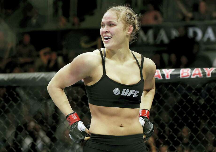 Ronda Rousey is returning to the UFC on Friday after a 13-month absence. Photo: The Associated Press File Photo  / AP2014